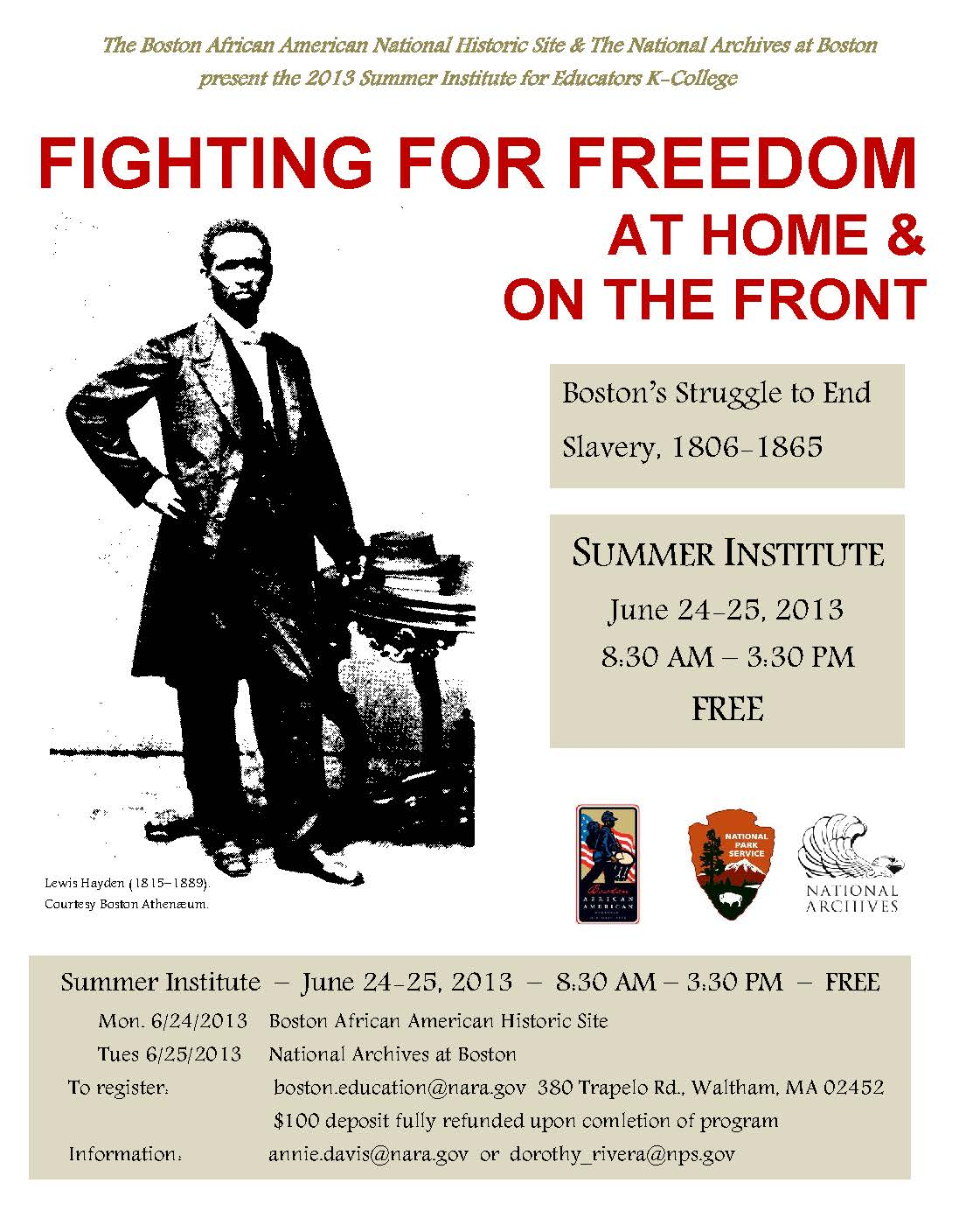 Fighting for Freedom Flyer