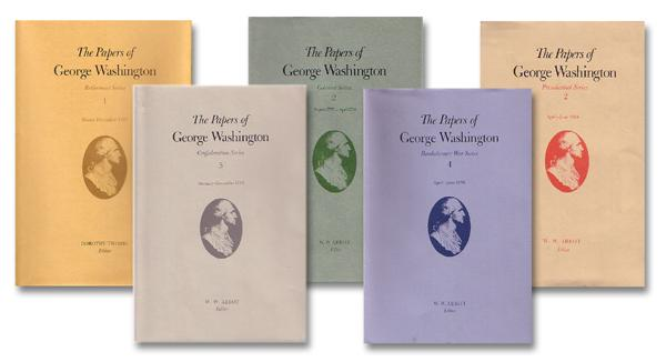 Volumes of the Papers of George Washington