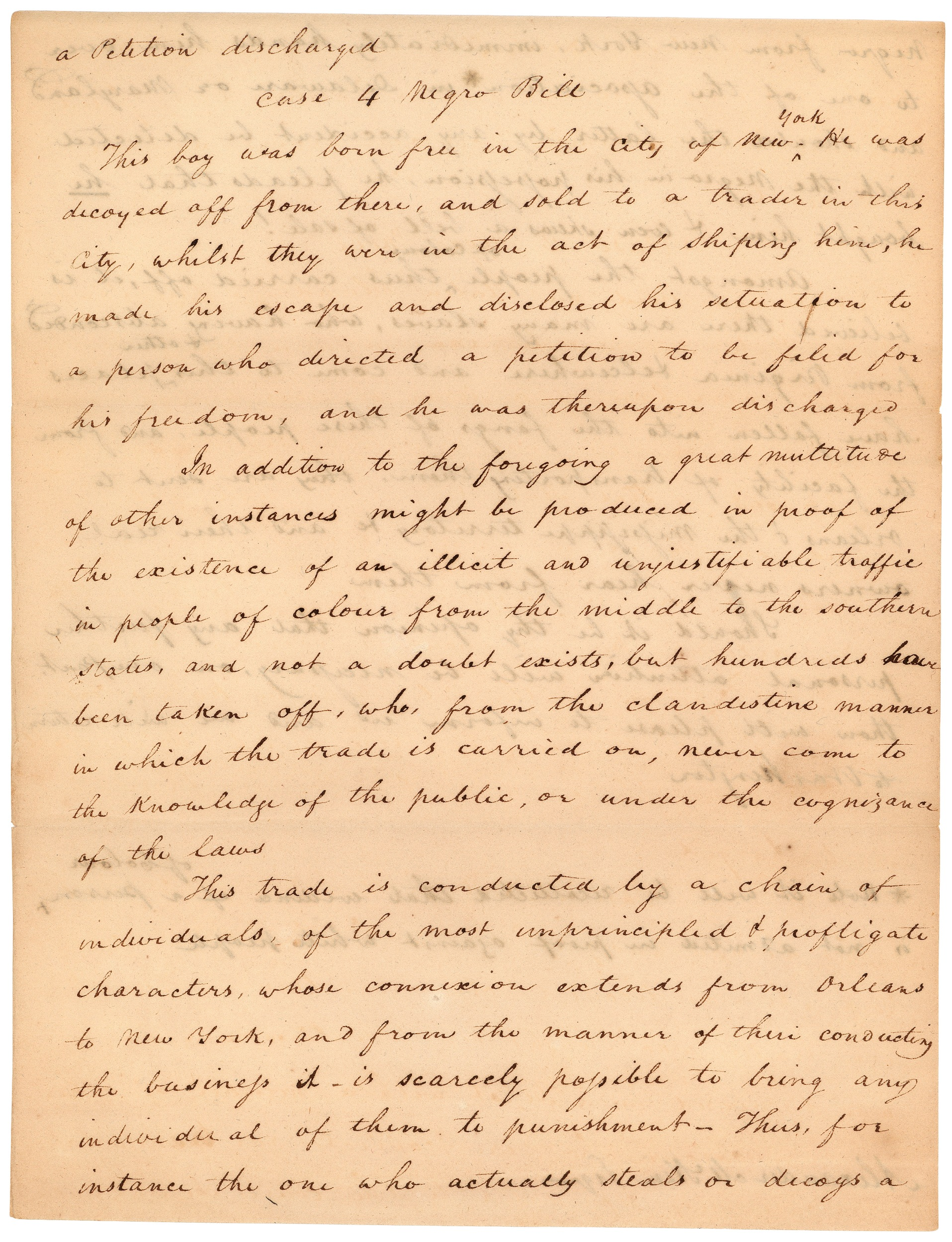 Letter from Elisha Tyson regarding kidnapped free blacks, December 5, 1811, page 3.