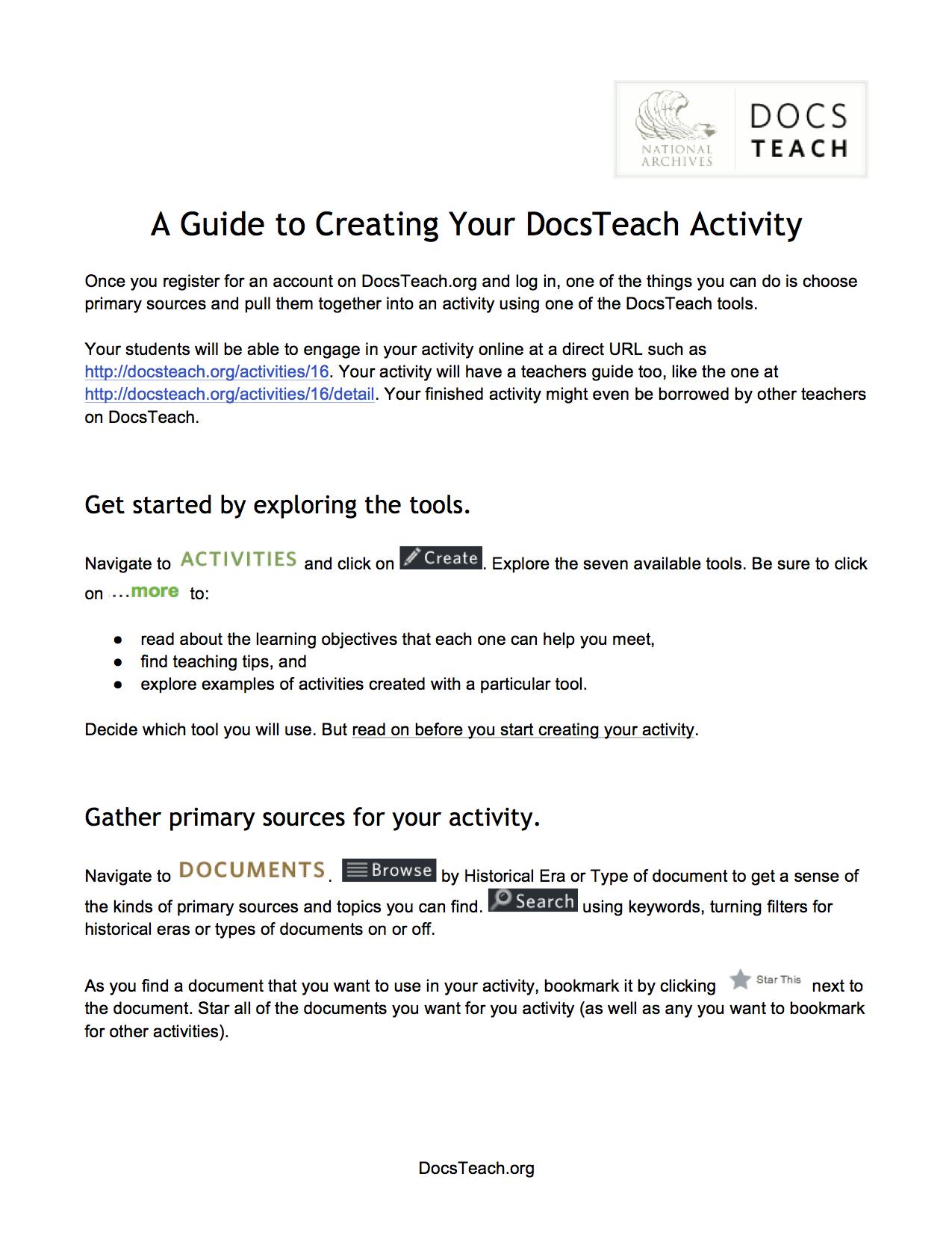 Snapshot of PDF version of guide