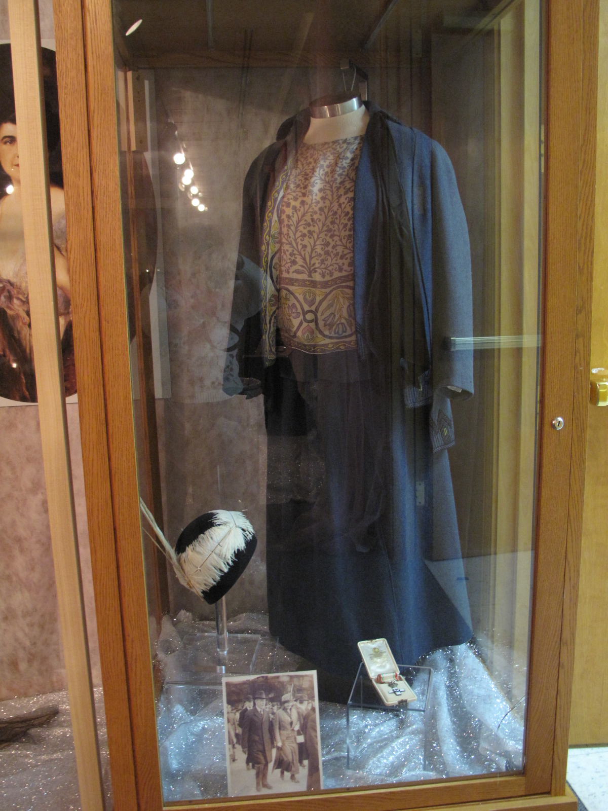 Photograph of Edith Galt Wilson's Worth Suit