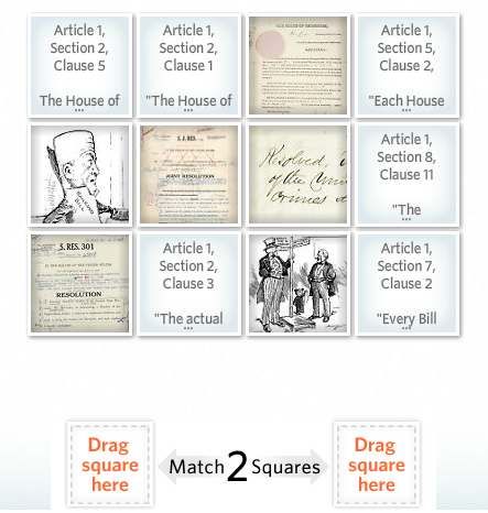 Congress in Article I activity