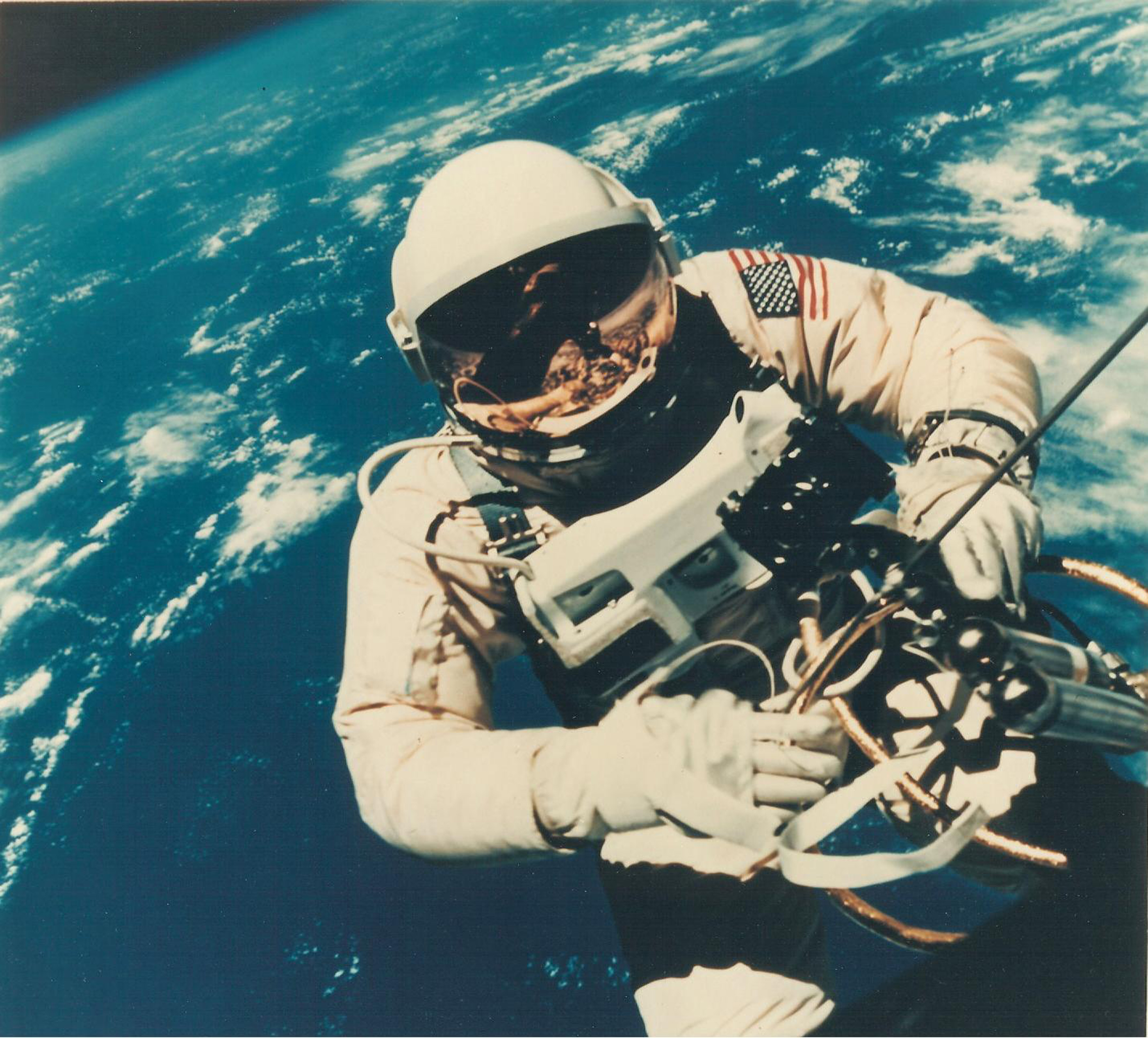 Astronaut Edward H. White II's Space Walk on Gemini IV
