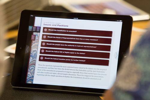 Bill of Rights App