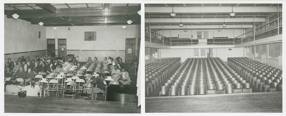 Auditoriums of Moton and Farmville