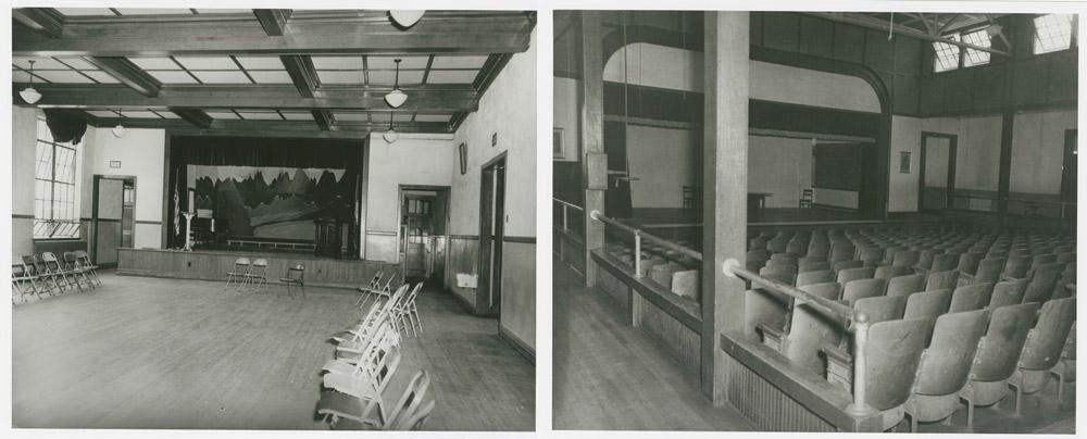 Auditoriums in Moton and Worsham High Schools