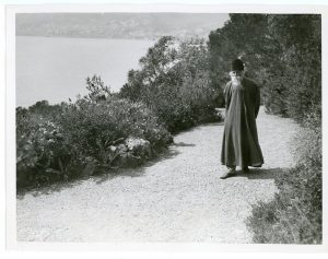 The Celebrated Hindu Poet, Rabindranath Tagore, Coming from India, Stopped at Cap Martin on the Cote d'Azur Before Continuing on Towards Paris