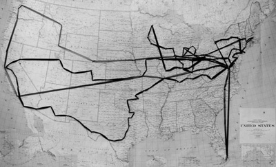 Map with string