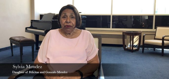 Still image of Sylvia Mendez from Natalia Lopez Documentary